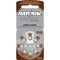 Rayovac Extra 312 Hearing Aid Batteries