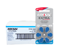 RAYOVAC Extra Hearing Aid Batteries<br>Size 675 – Box of 60