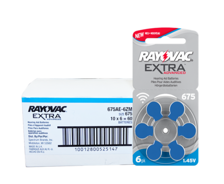 Rayovac Extra size 675 Hearing Aid Batteries