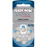 Rayovac Extra 675 Hearing Aid Batteries