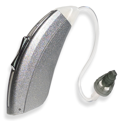 FreeStyle 812 Open Fit Hearing Aid Silver