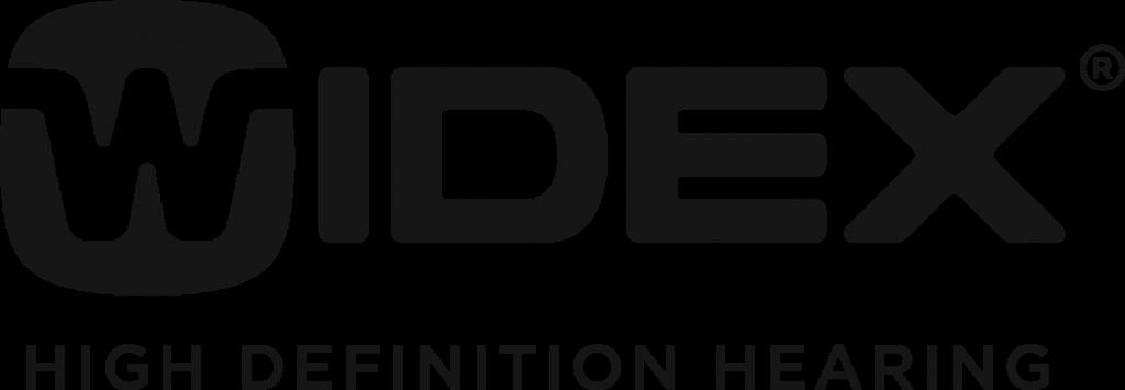 WIDEX Hearing Aids Logo BLK