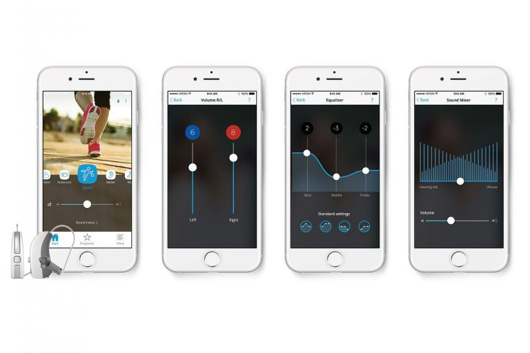 Widex Beyond Hearing Aid Smartphone App