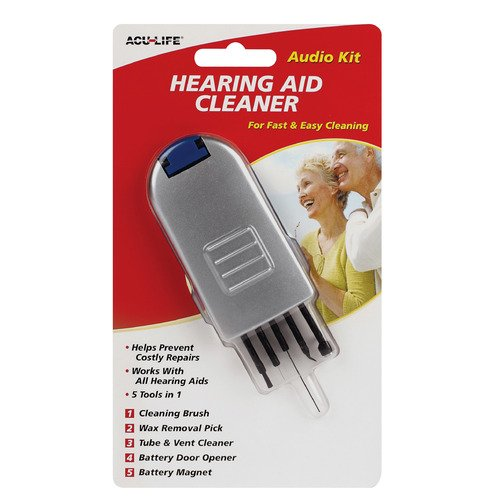 Acu-Life Hearing Aid Cleaner 5 in 1 Tool