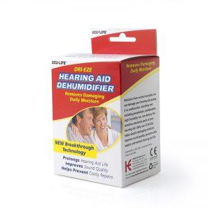 Dri-eze hearing aid dryer/dehumidifier