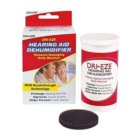 Dri-Eze hearing aid dryer dehumidifier