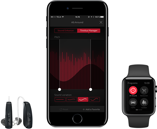 ReSound iPhone Apple Watch