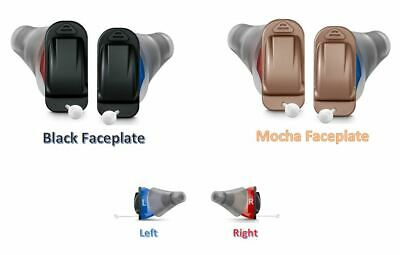 Signia Silk Hearing Aid Faceplate Colors