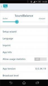 Signia-touchControl-app