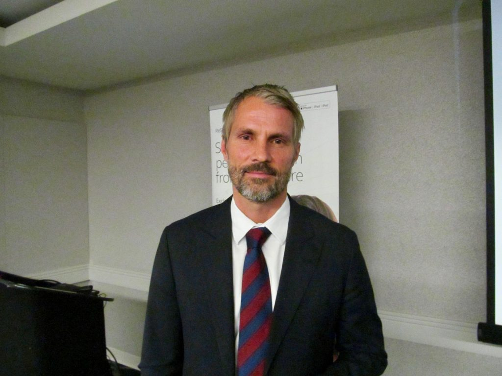 Jakob Gudbrand, CEO and President of GN ReSound Hearing