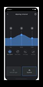 Widex Moment App Equalizer
