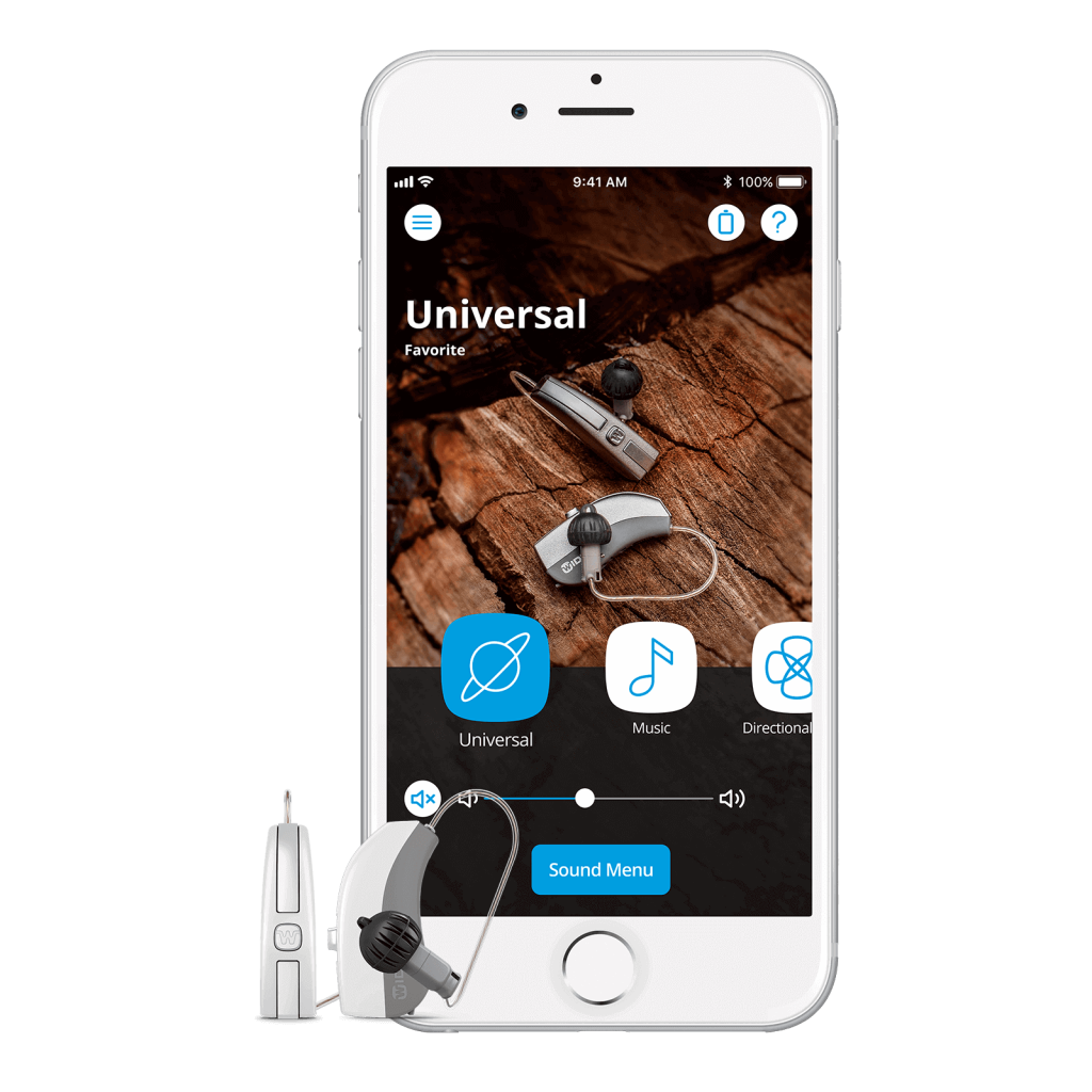 Widex Evoke hearing aids and iPhone