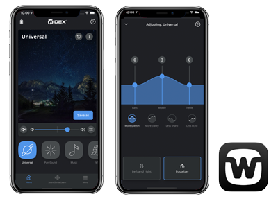 Widex Moment App