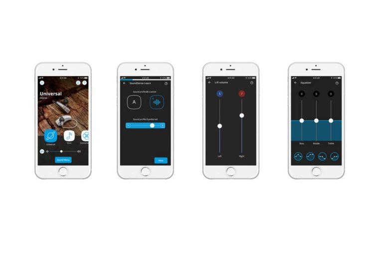 Widex Evoke hearing aid app