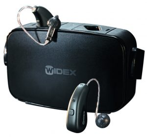 widex moment mric r d hearing aid with charger