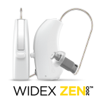 Widex Hearing aid with Zen tinnitus App