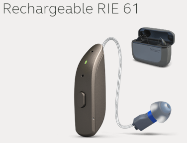 ReSound ONE RIE 61 Rechargeable Hearing Aid With Charger