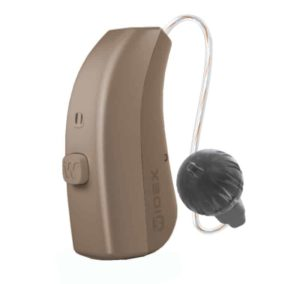 Widex Evoke 312 Receiver In Canal Hearing Aid - Beige Color