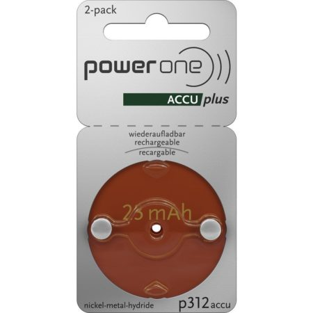 power one 312 rechargeable battery 2 pack