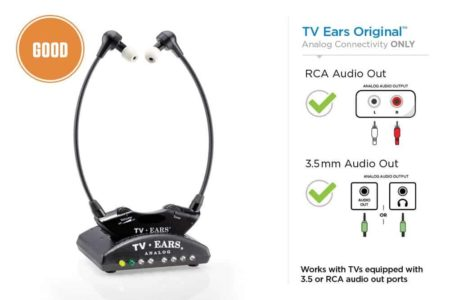 tv ears connection