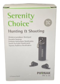 Serenity Choice™ Hunting & Shooting Earplugs