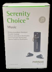 Serenity Choice™ Music Earplugs